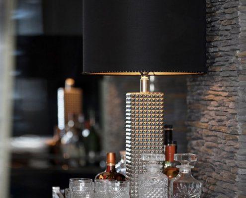 Luksusowa lampa stołowa Lenny z abażurem Nina Watt&Veke