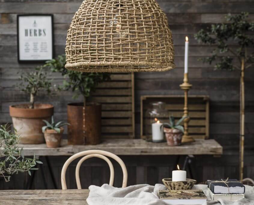Wiklinowa lampa wiszaca Cebu PR Home