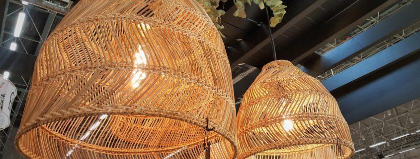 Wiklinowe lampy wiszace Maja PR Home