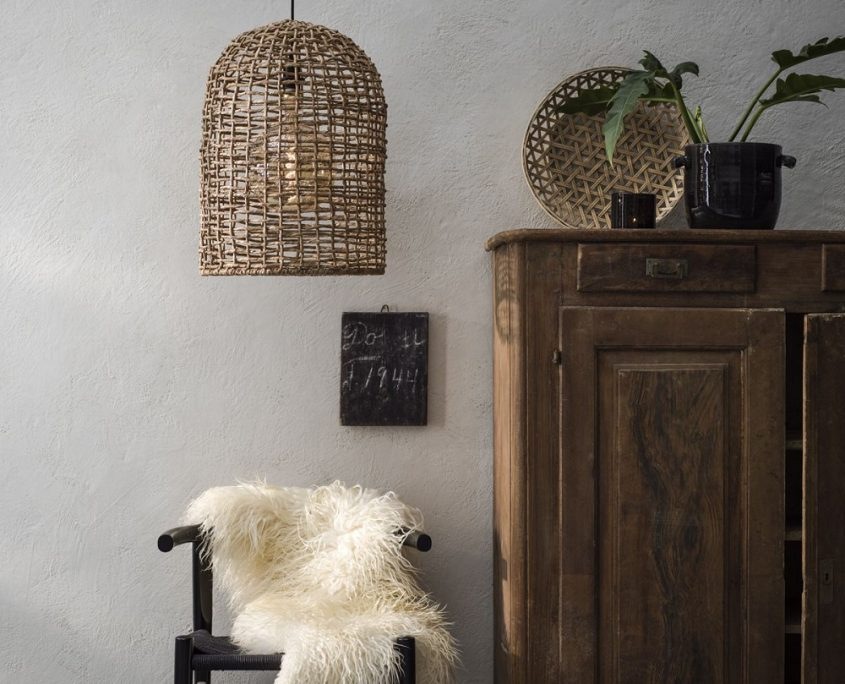 Wiklinowa lampa wisząca Ava PR Home