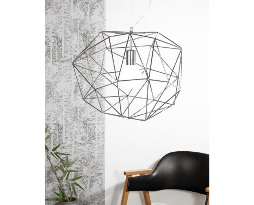 Druciana lampa wiszaca Diamond Globen Lighting