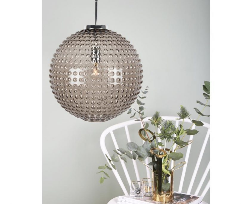 ampa Spring przydymione szklo Globen Lighting