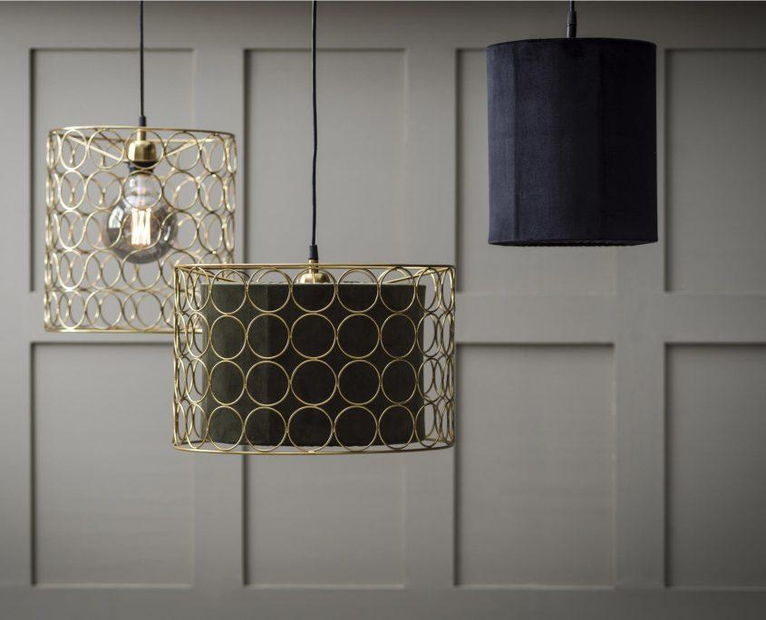 Druciane lampy Ring PR Home