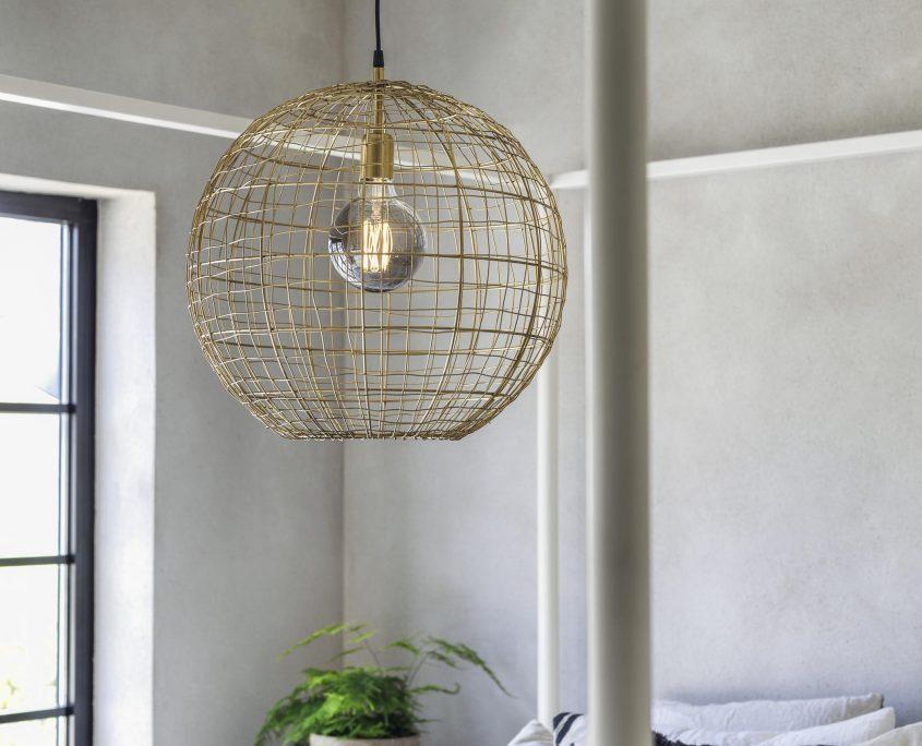 Lampa z drutu Corby PR Home
