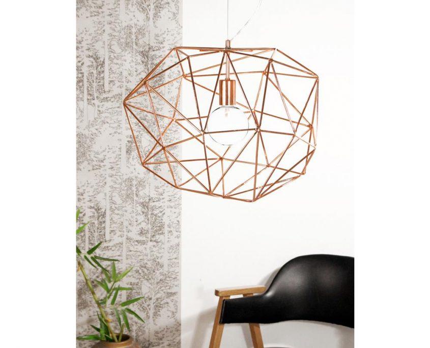 Lampa z drutu Diamond Globen Lighting