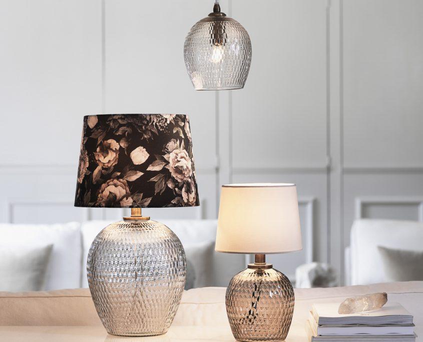 Szklane lampy Julia PR Home