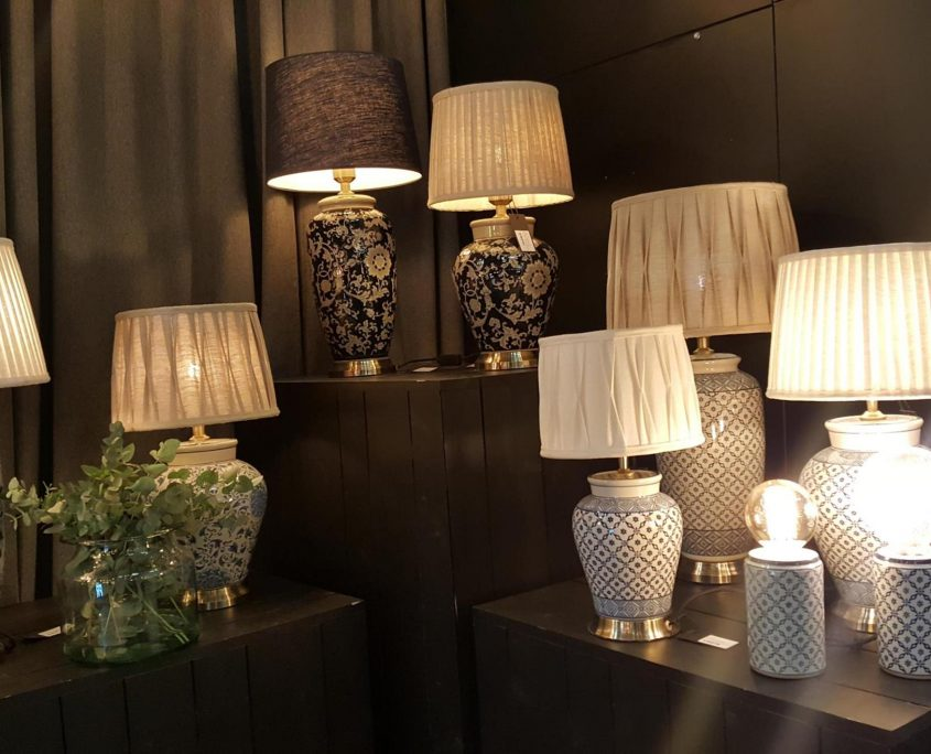 Kolekcja ceramicznych lamp szwedzkiej marki PR Home
