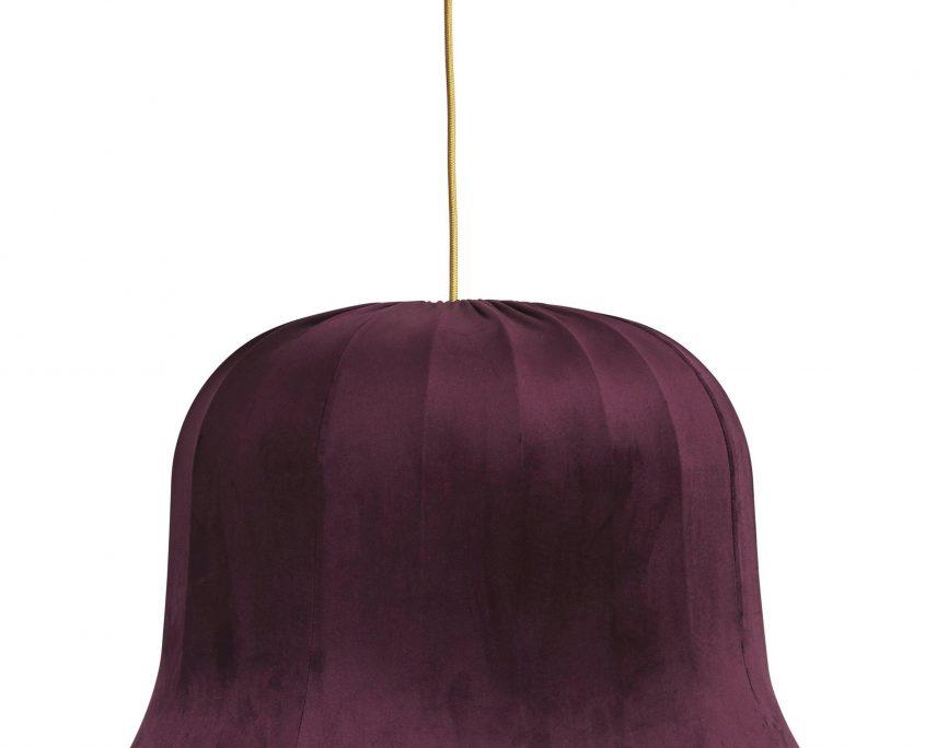 Abazur wiszacy vintage aksamit burgund