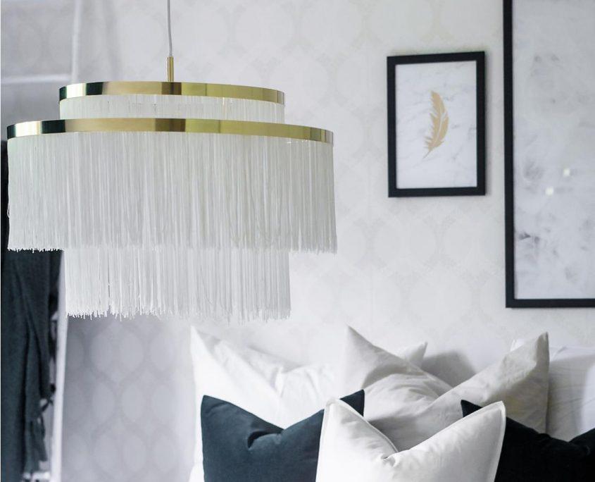 Lampa fredzle Frans vintage
