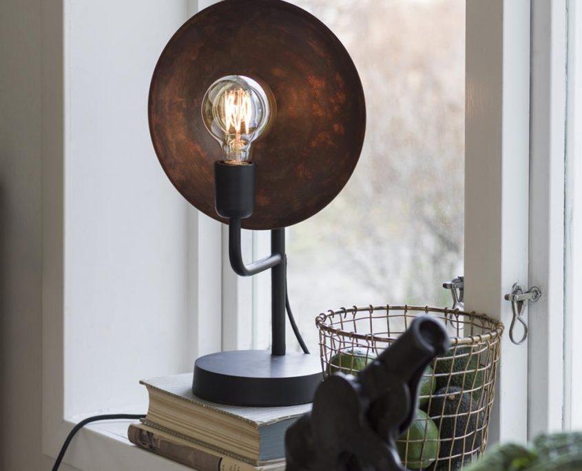 Lampa industrialna vintage Uptown rdzawa