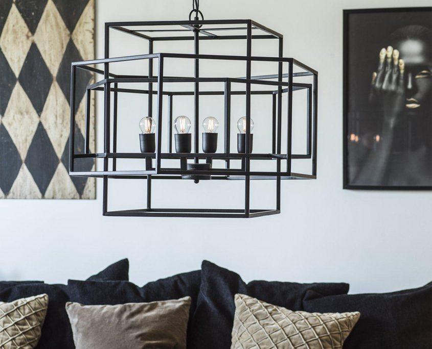 Lampa klatka Rod marki PR Home