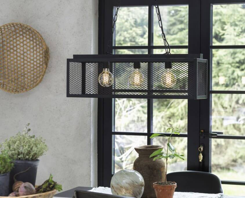 Lampa loft vintage Grid