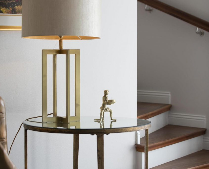 Lampa stolowa art deco vintage Curtis Watt&Veke