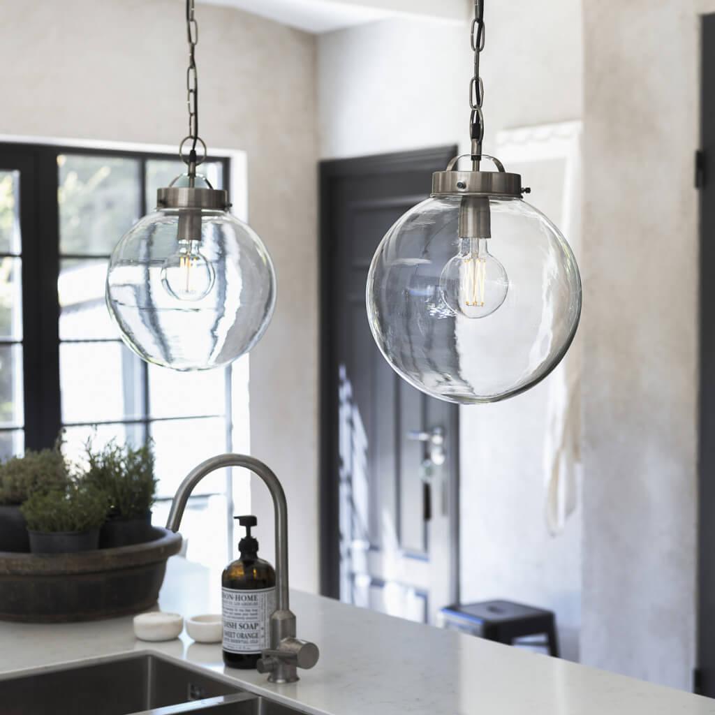 Lampy szklane kule Bretagne PR Home