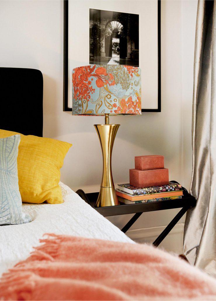 Cylindryczny abazur Scarlett na lampe stolowa lub wiszaca
