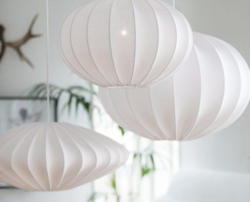 Lampy abazurowe w stylu skandynawskim