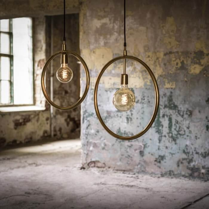 Industrialne lampy Circle PR Home
