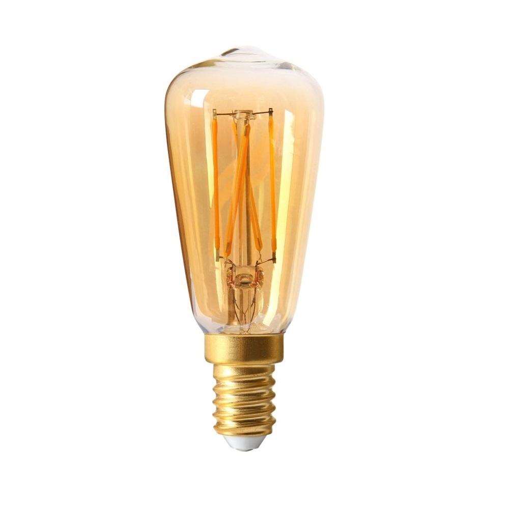 żarówka Dekoracyjna Złota Edison Led E14 25w