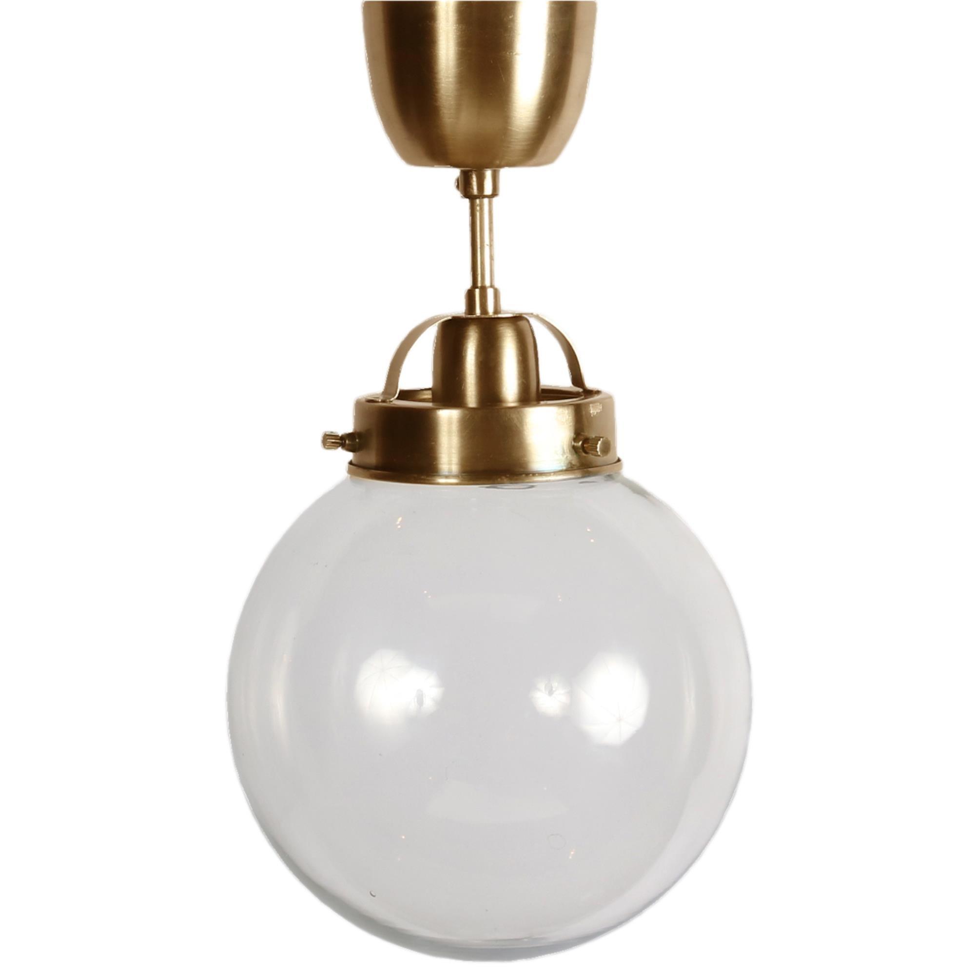Lampa Sufitowa Szklana Kula Bretagne 20cm