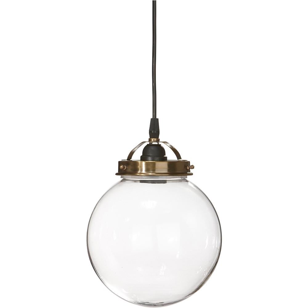 lampa kula wisząca, lampa kula szklana