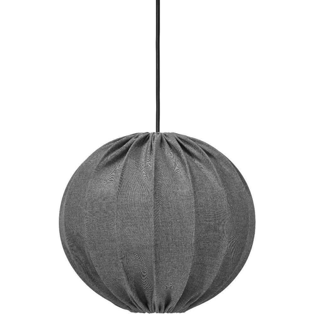 Lampa Wisząca Ogrodowa Kula Ball Szara Outdoor
